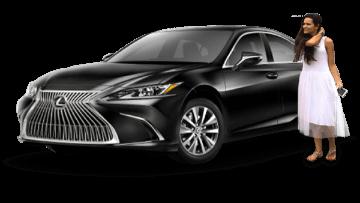 Наш Lexus ES