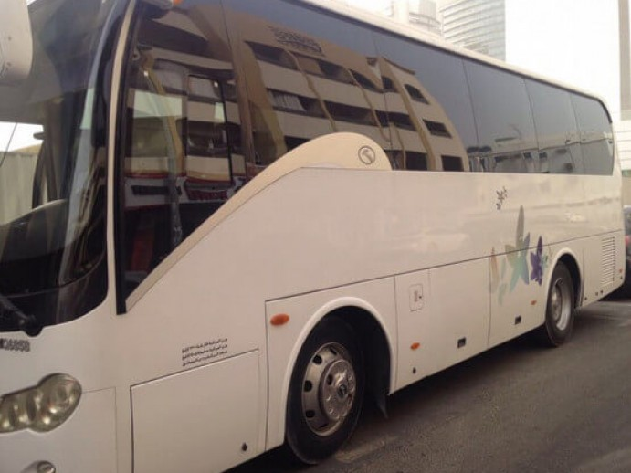 Bus rental companies in Dubai
