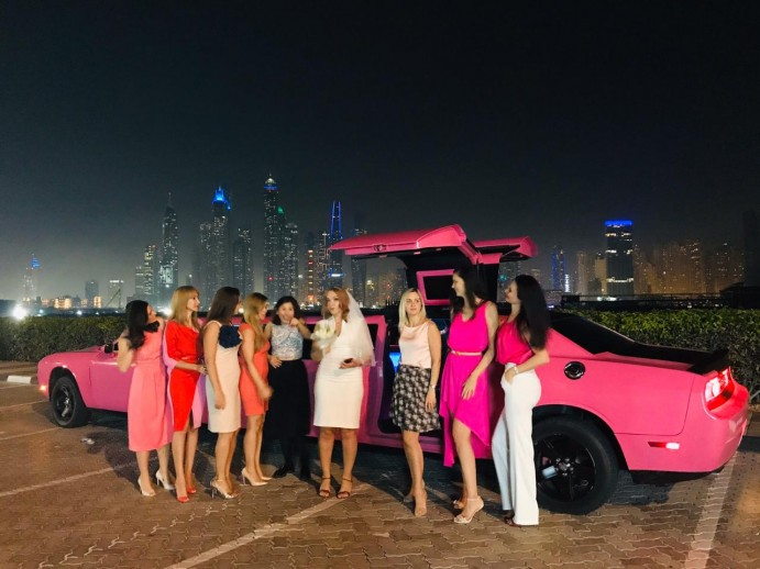 Limousine companies in Dubai