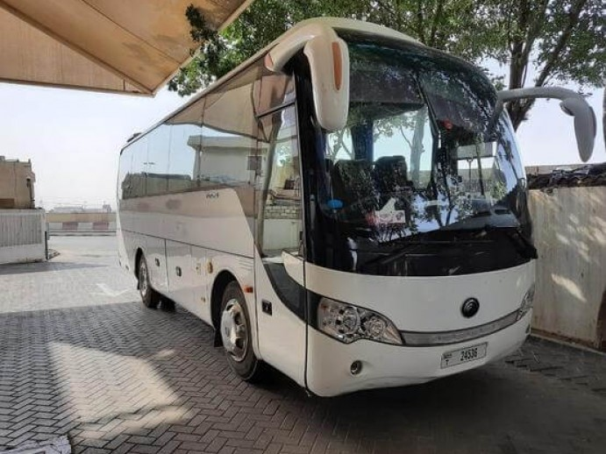 bus hire abu dhabi