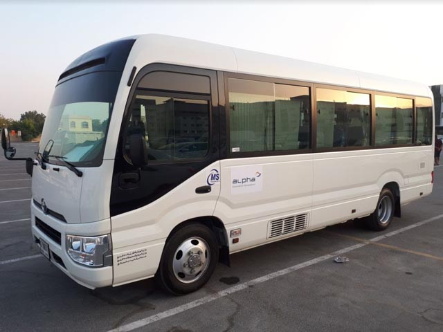 Toyota Coaster 22 Seater