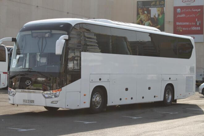 50 seater bus rental Dubai
